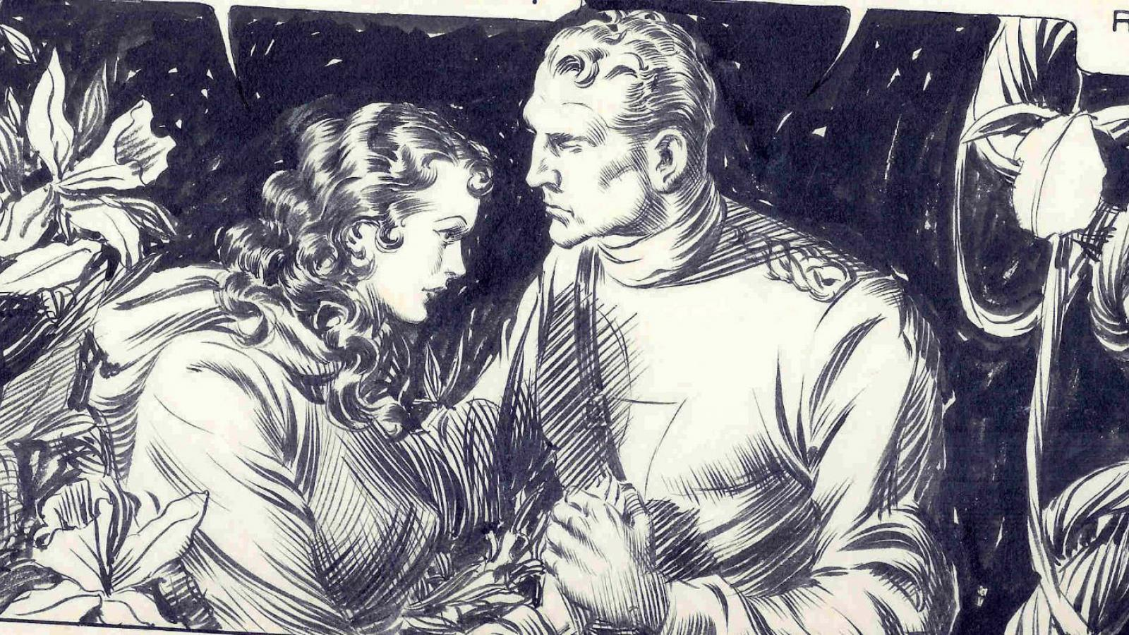 Comic Book Artist: Alex Raymond