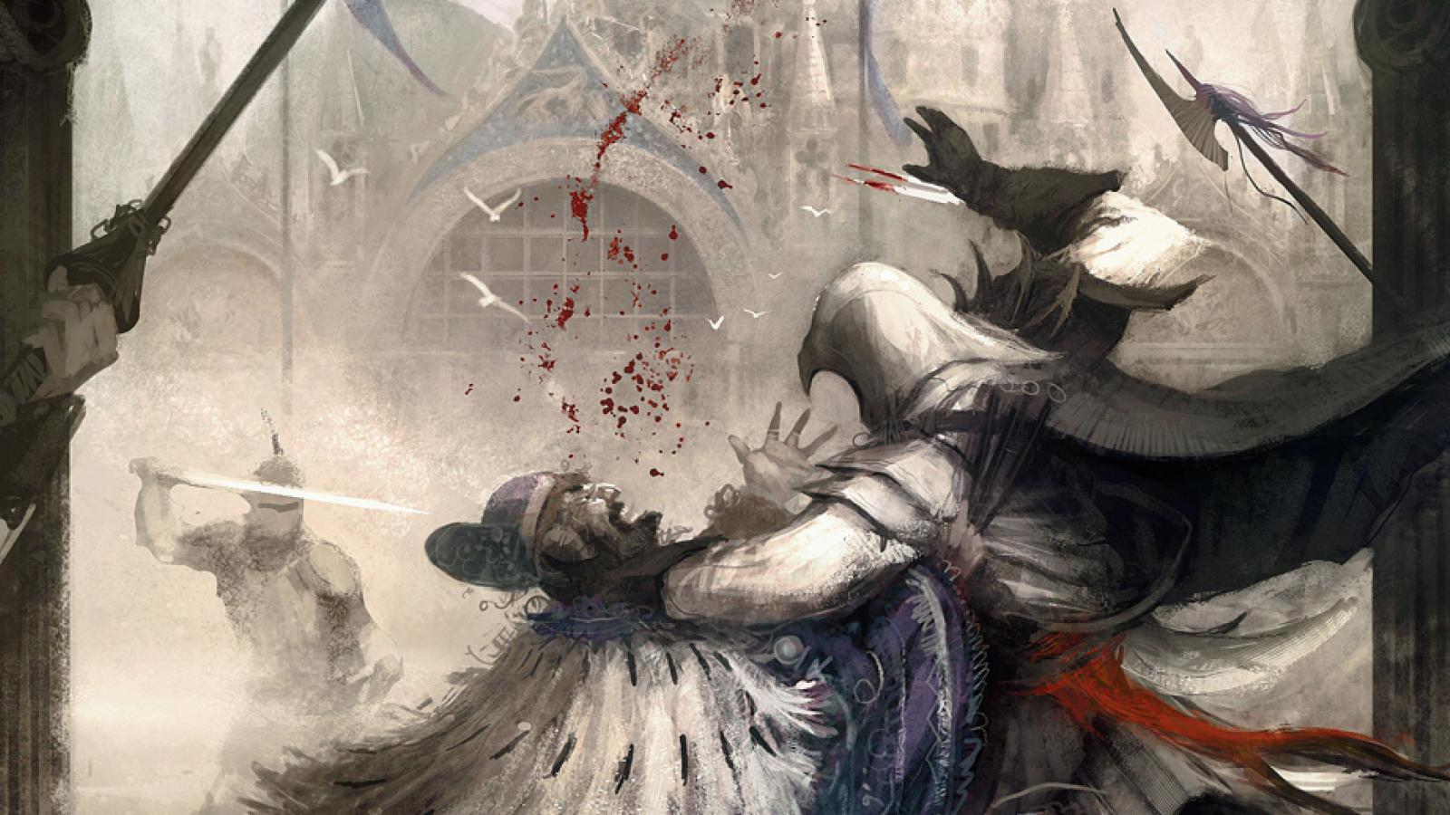 Stunning Assassin's Creed Artworks