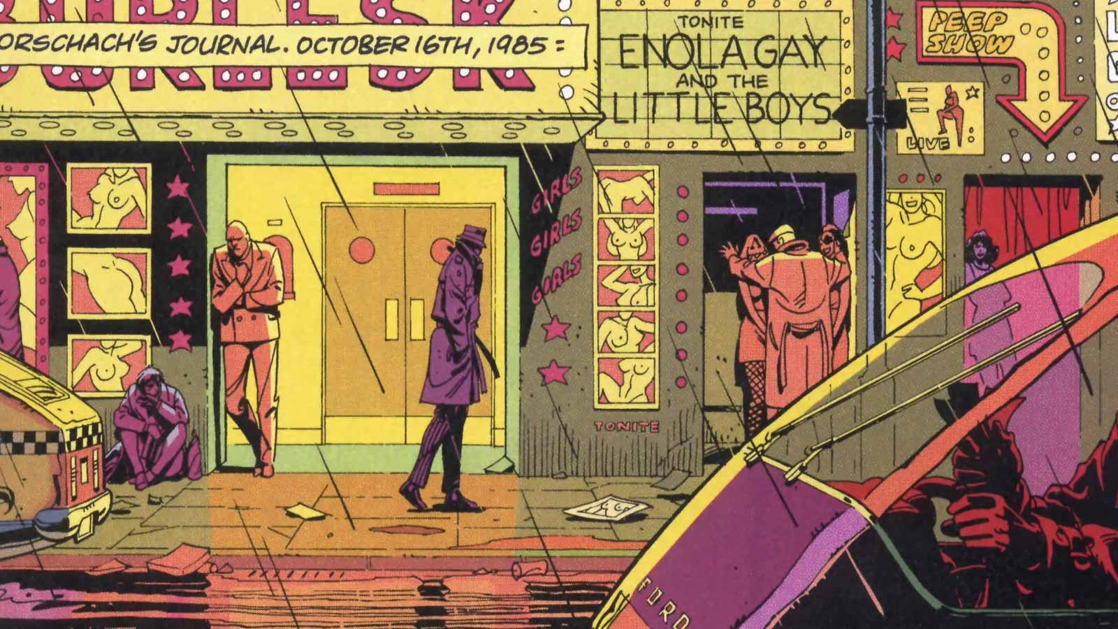Comic Book Artist: Dave Gibbons