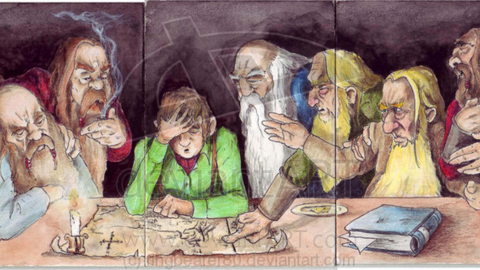 Awesome The Hobbit Fan Art