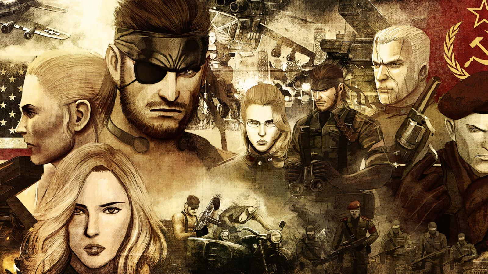 Fantastic Collection of Metal Gear Solid Fan Art