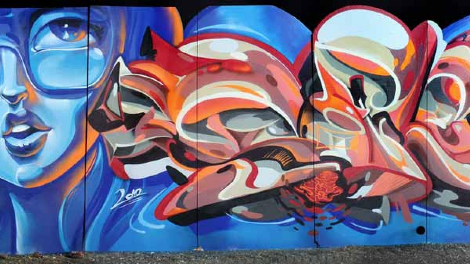 Extraordinary Graffiti by Sofles DTS