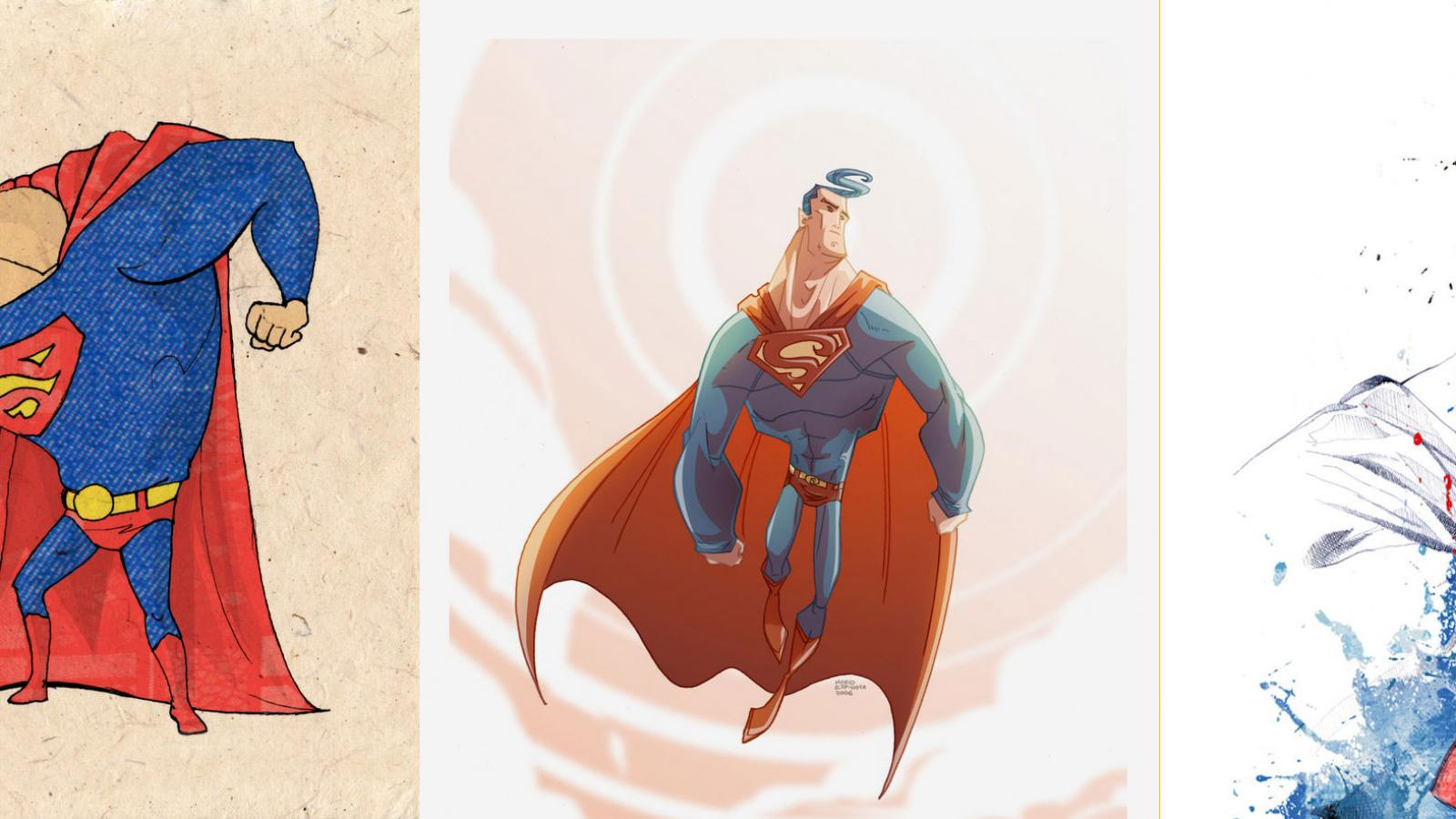 Outstanding Collection of Superman Artworks