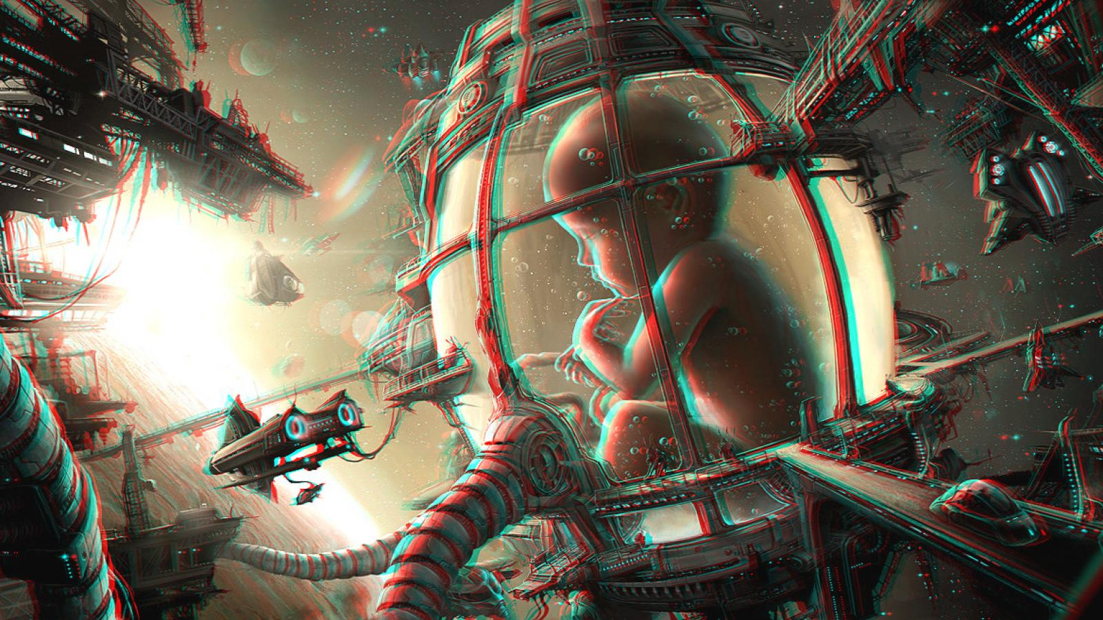 Anaglyph 3D Inspiration by Mark Ramsey