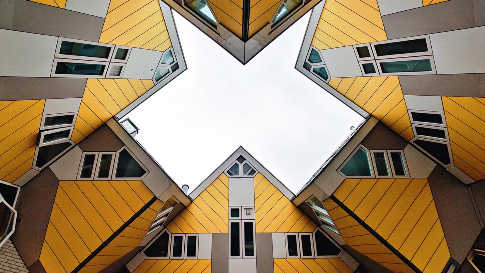 Wallpaper of the Week - Cube Houses from Rotterdam, Netherlands