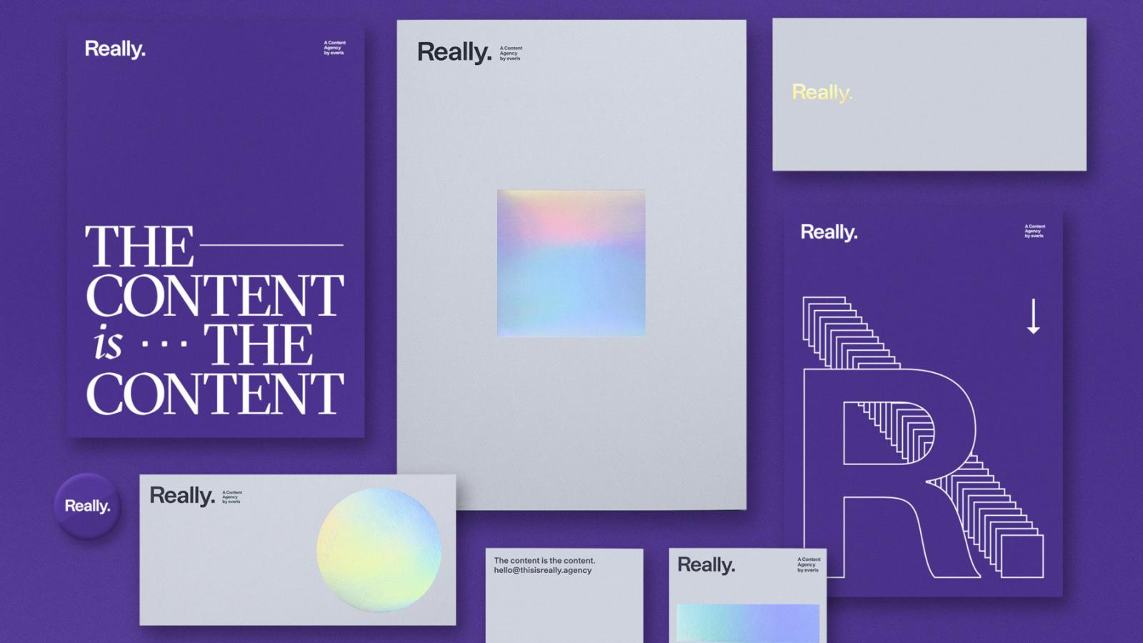 Brand Identity for Really. by Tata&Friends Studio