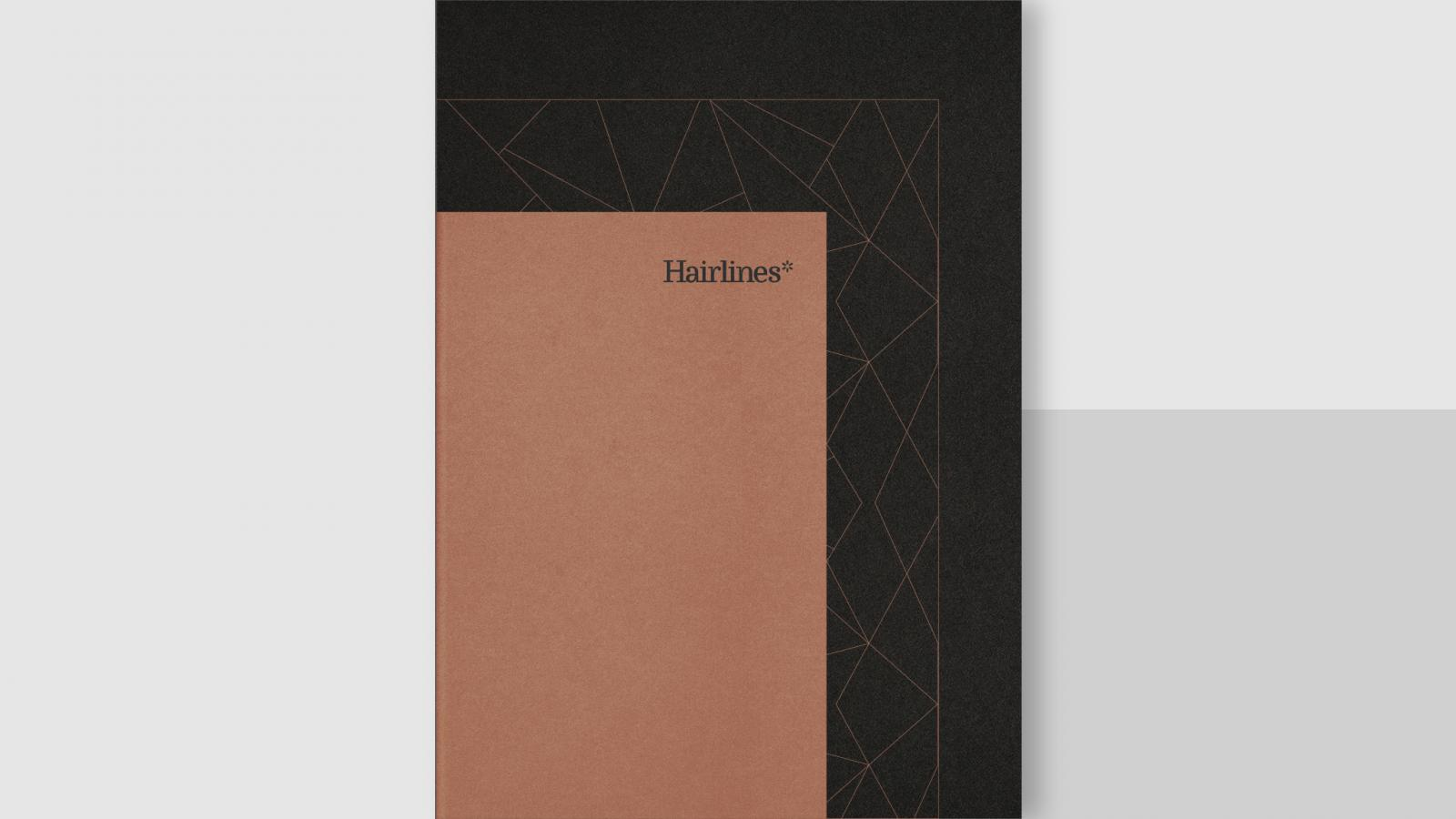Elegant Brand Identity for Hairlines by BULLSEYE