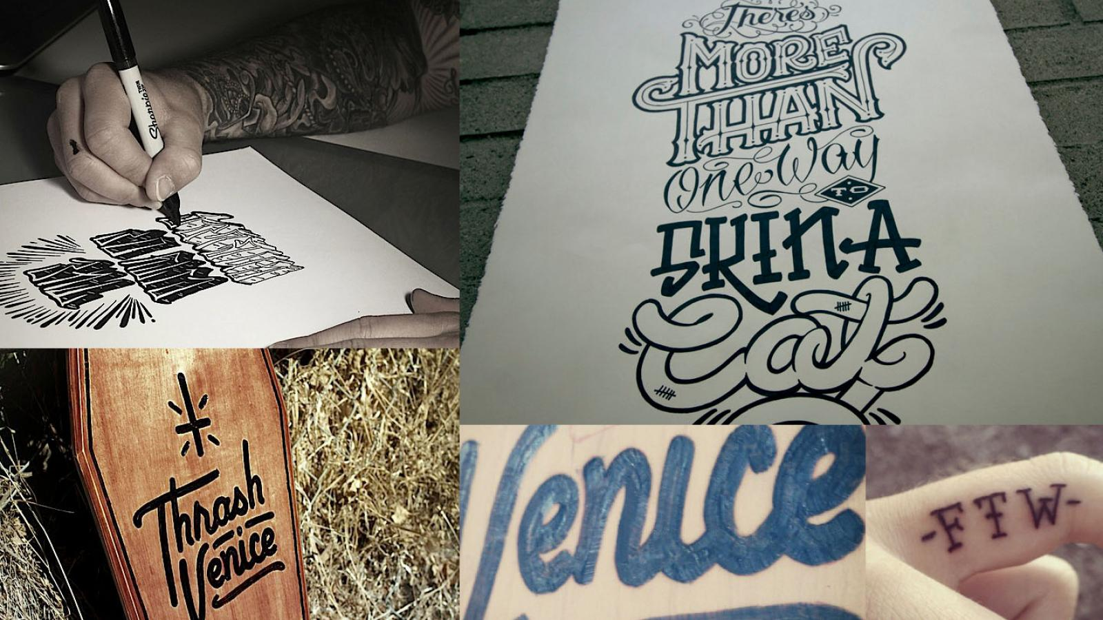 Custom Lettering with Eric Waetzig