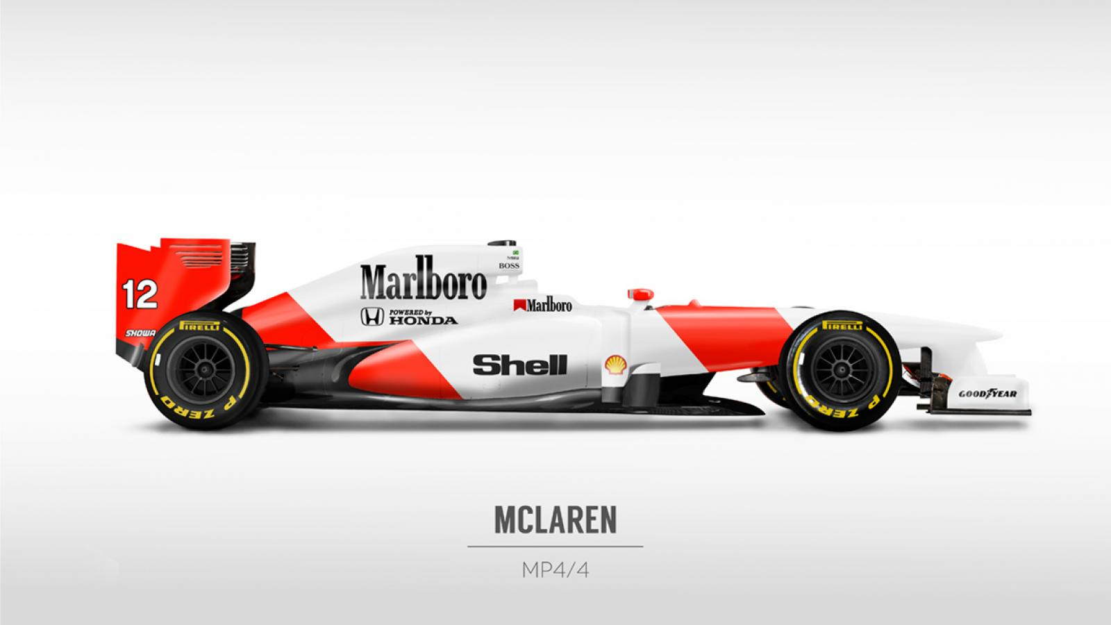 Retro F1 Liveries into Current Cars