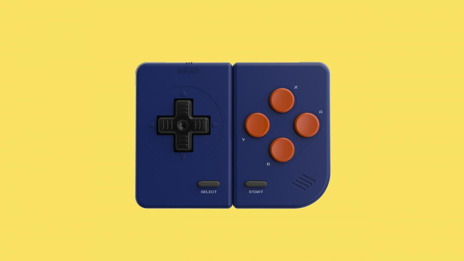 Industrial Design for Clippad Universal Gamepad