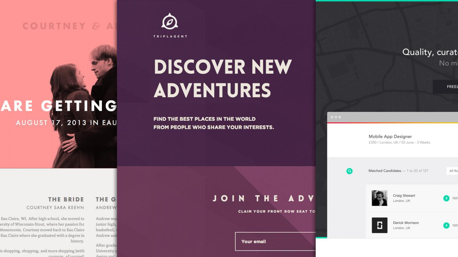 Web Design: Flat Layouts