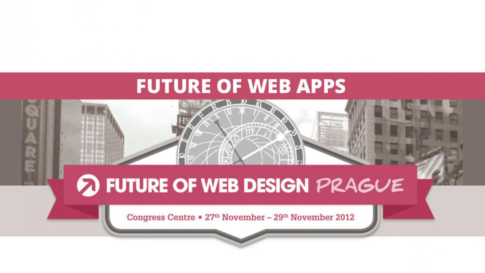 Event: Future of Web Apps & Design in Prague