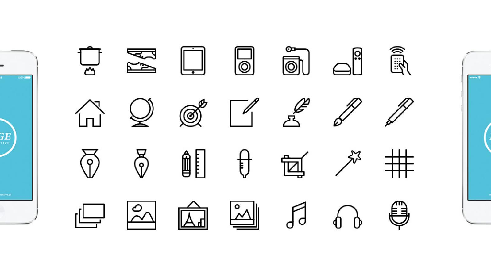 Free Design Resources: Icons, UI Kits and Mockups