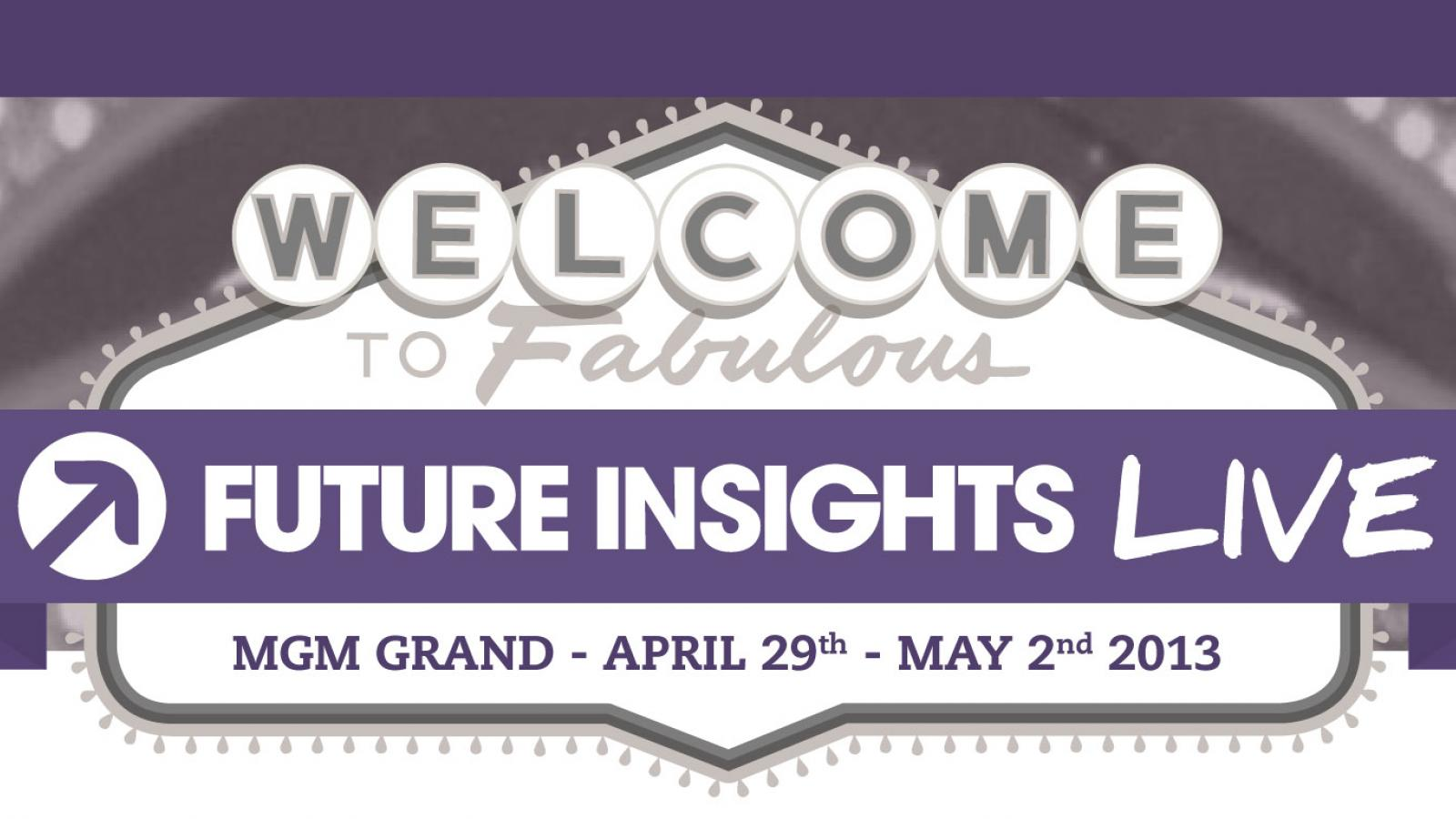 Event - Future Insights Live