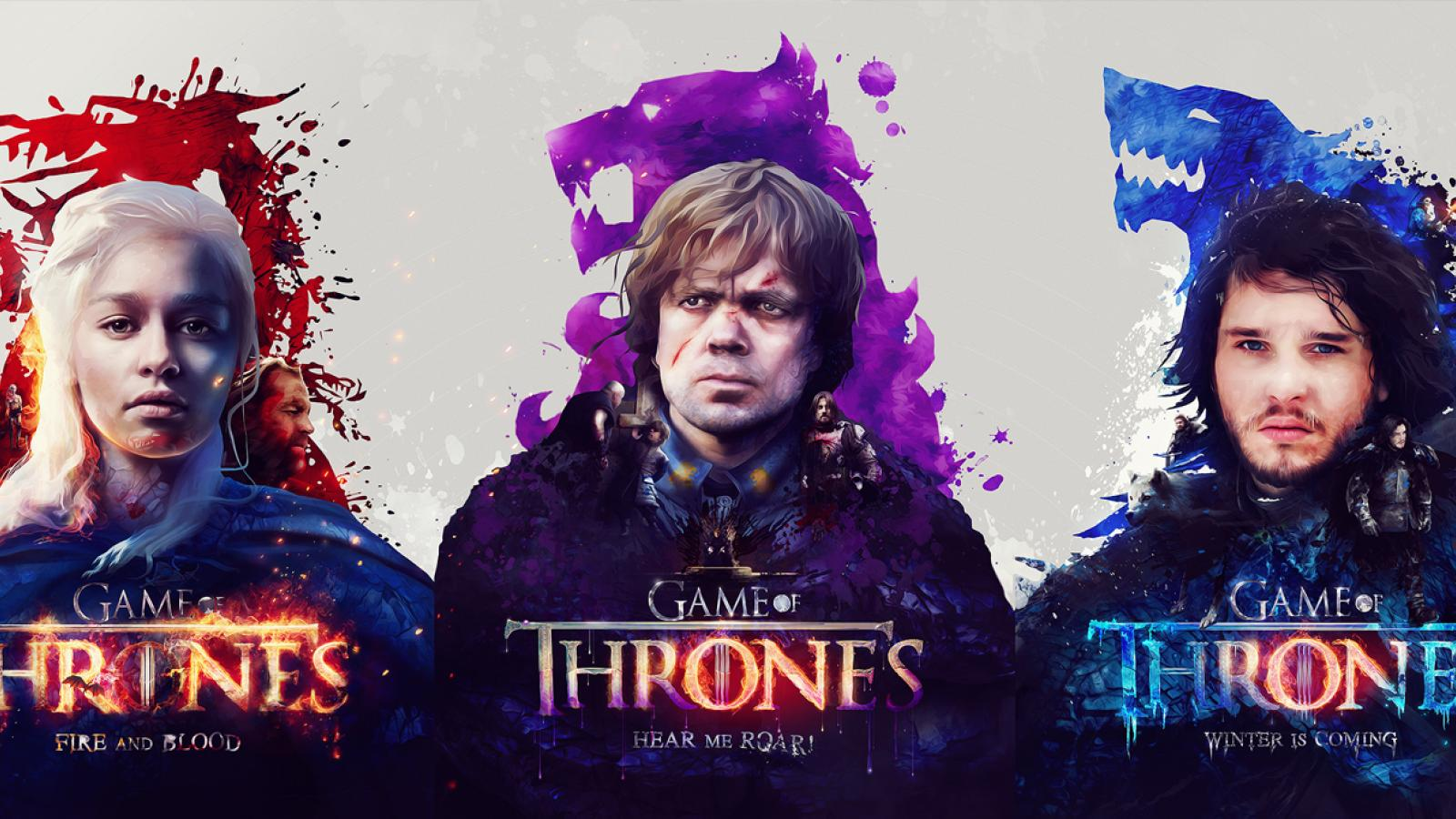 Game of Thrones Posters by Adam Spizak Exclusive on Funkrush + Giveaway
