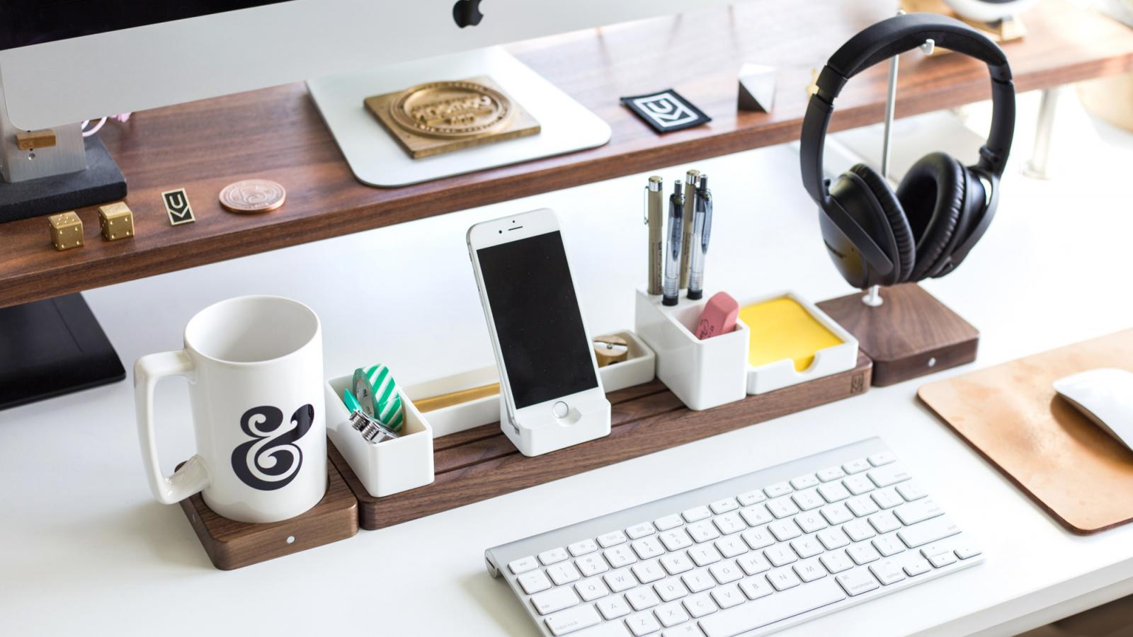 Gather by Ugmonk: Minimal & Modular, your Next Desk Organizer