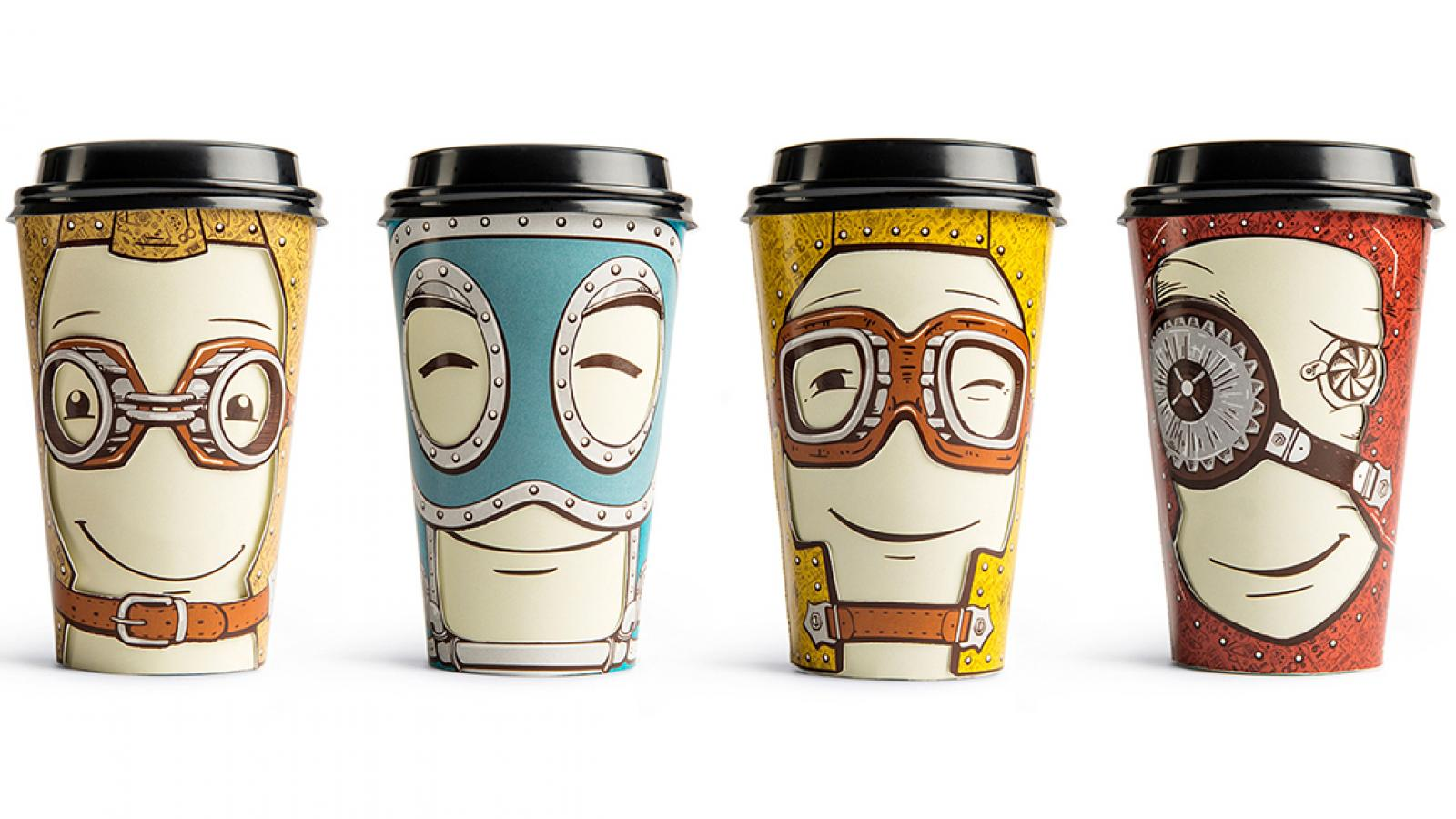 Coffee Cup Moods