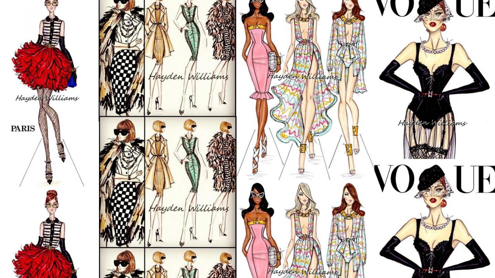 Beautiful Fashion Illustrations by Hayden Williams