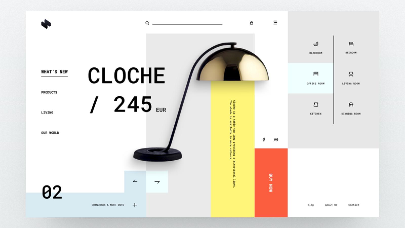 Web Design Inspiration By Hristo Hristov