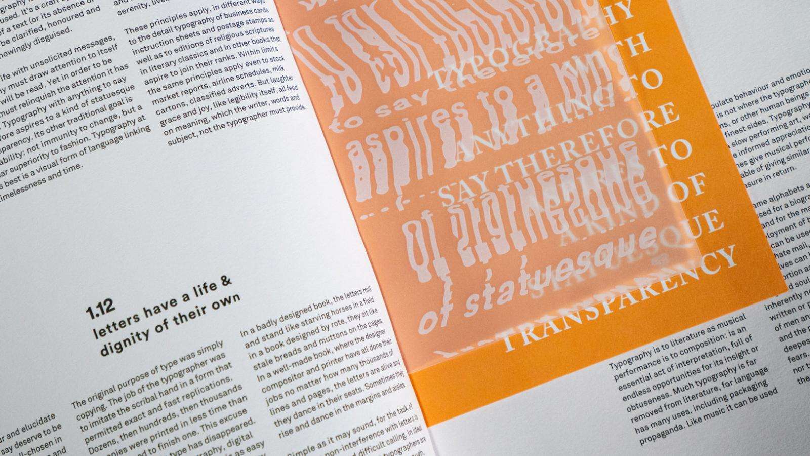 Blink brings a Tactile Journey to Editorial Design