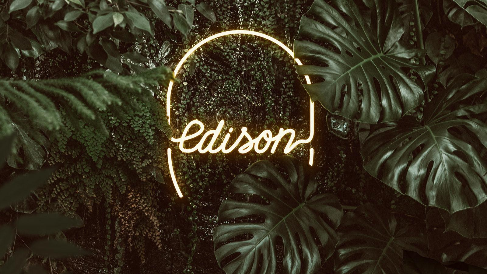 Branding for Edison Botânica & Bar