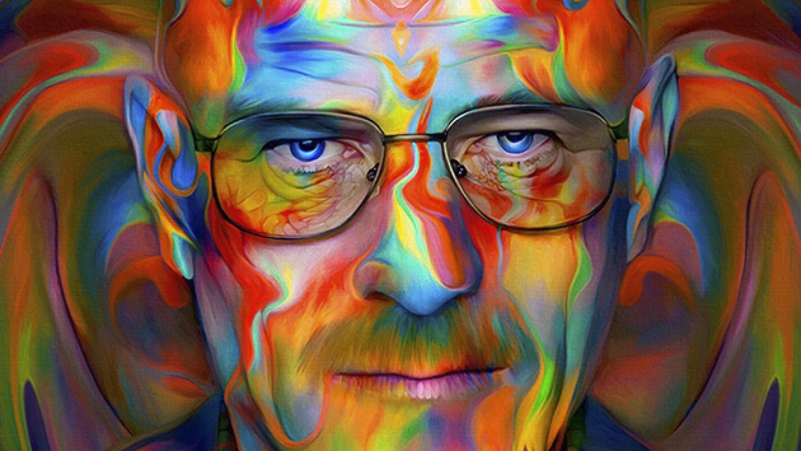 Trippy Portraits by Nicky Barkla