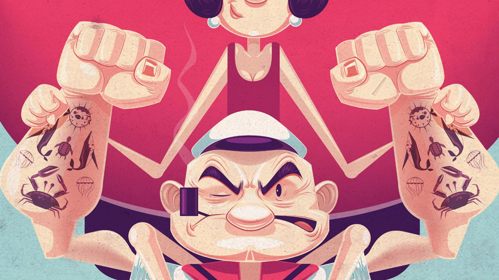 Endearing Illustrations by James Gilleard