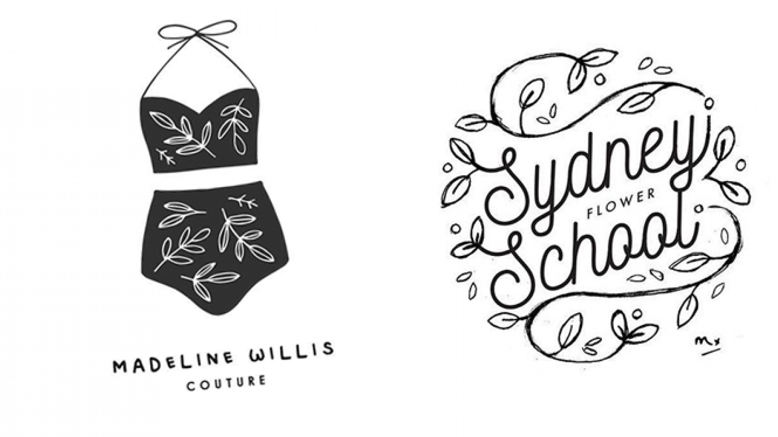 Sweet Logo Design by Maggie Molloy