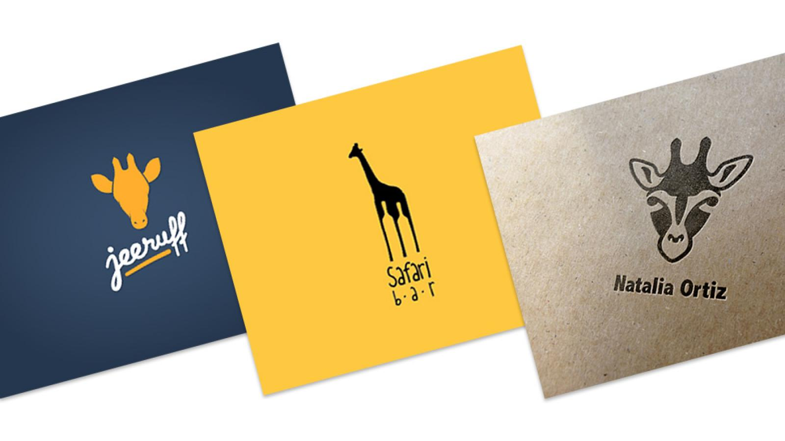 Logo Design: More Giraffes