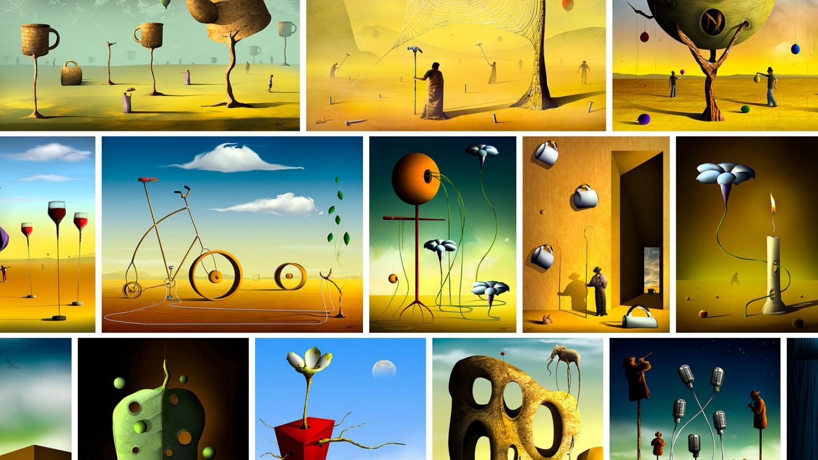 surrealism | Abduzeedo
