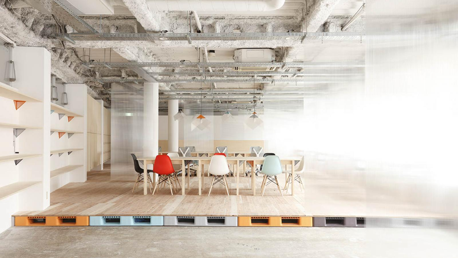 Architecture: Inside the Offices of Mozilla Japan's Open Source Factory Space