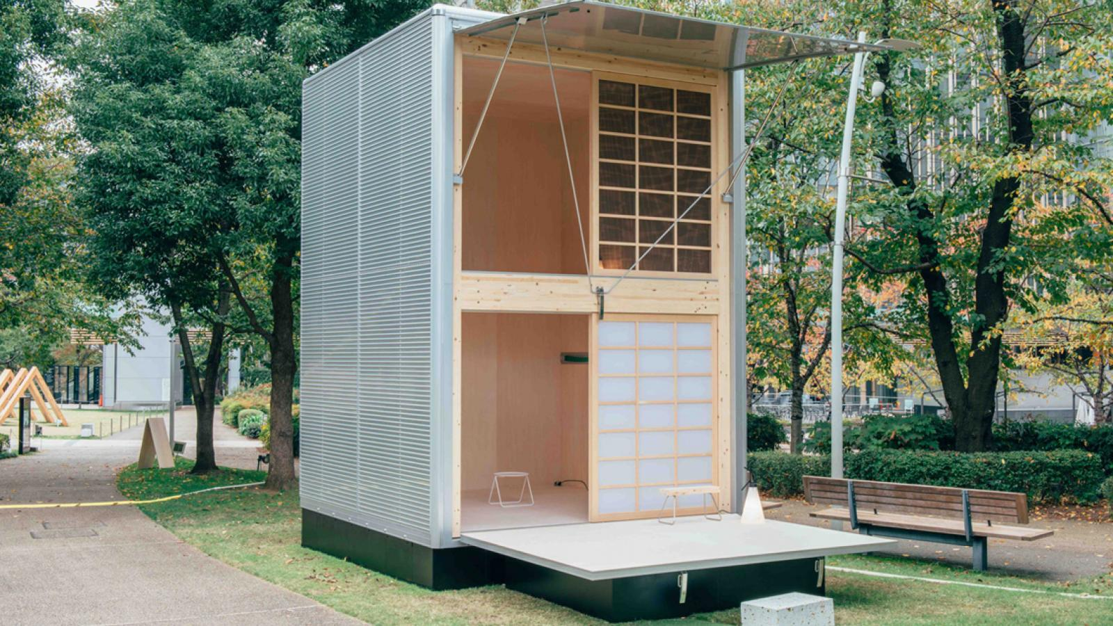 Ready-Constructed Huts by Muji