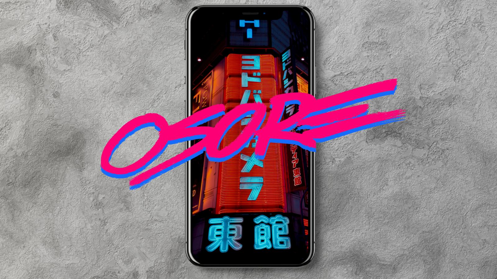 Osore Update for mobile, next series - Cyberpunk Lightroom Presets