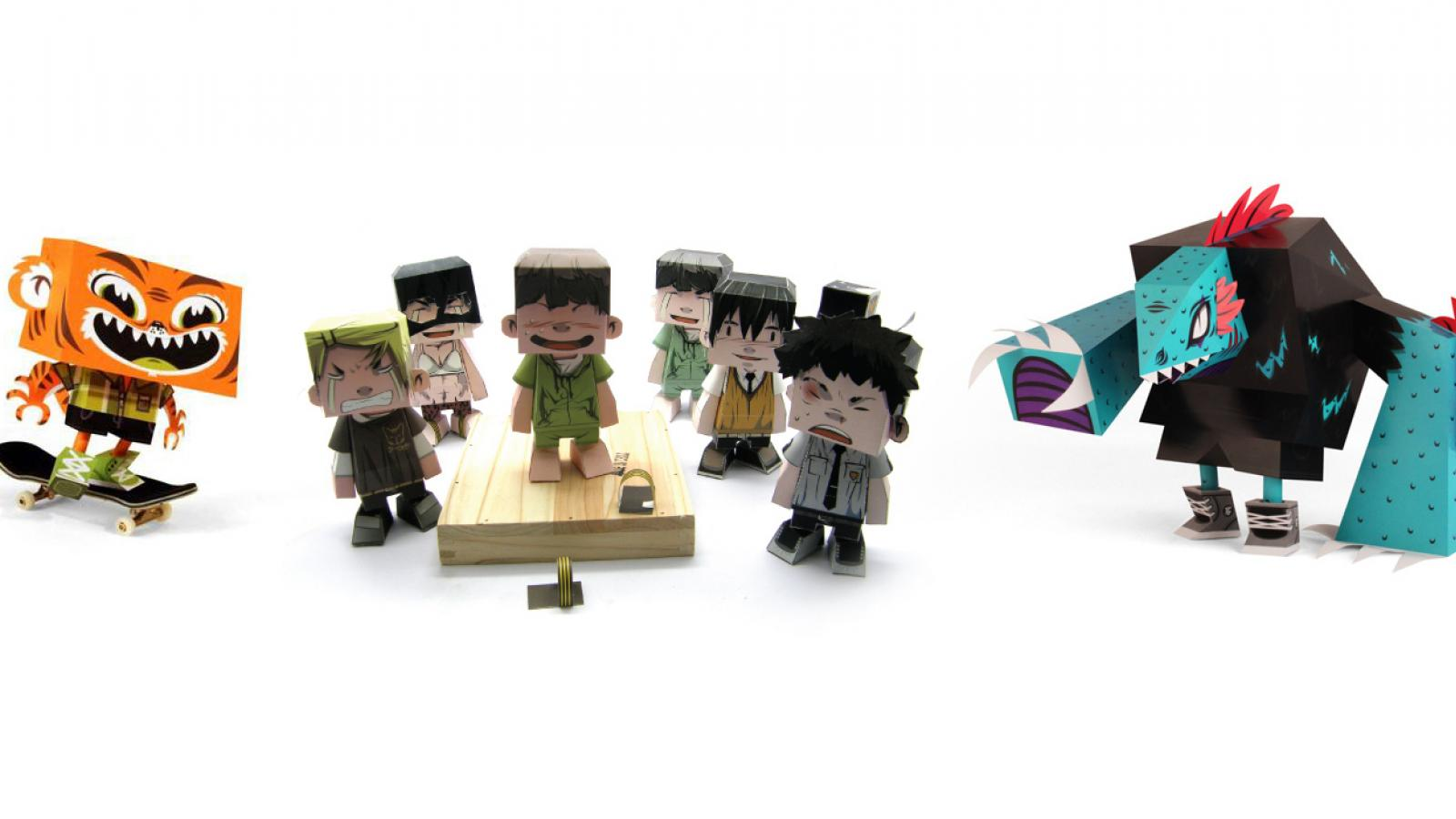 Super Awesome Papertoys