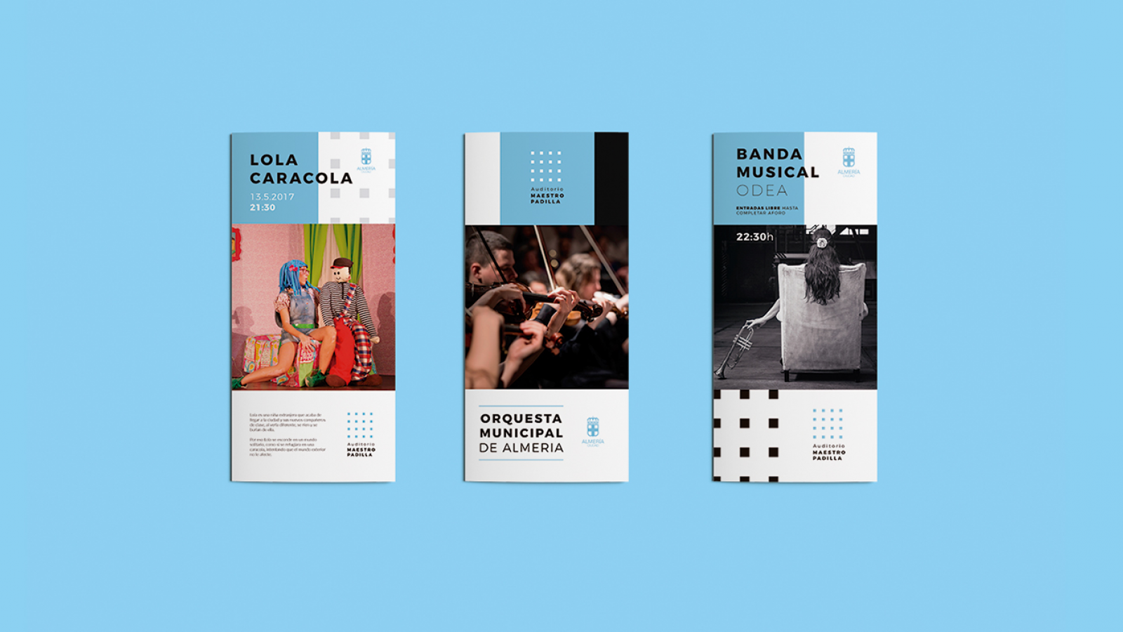 Brand Identity for Master Padilla Auditorium