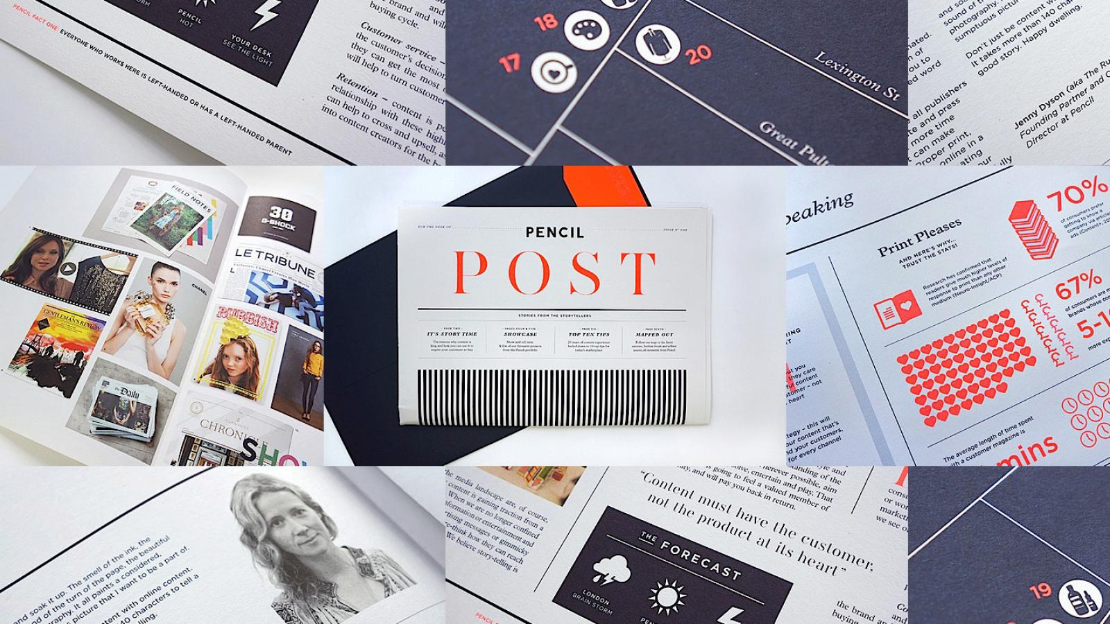 Editorial Design Inspiration: Pencil Post