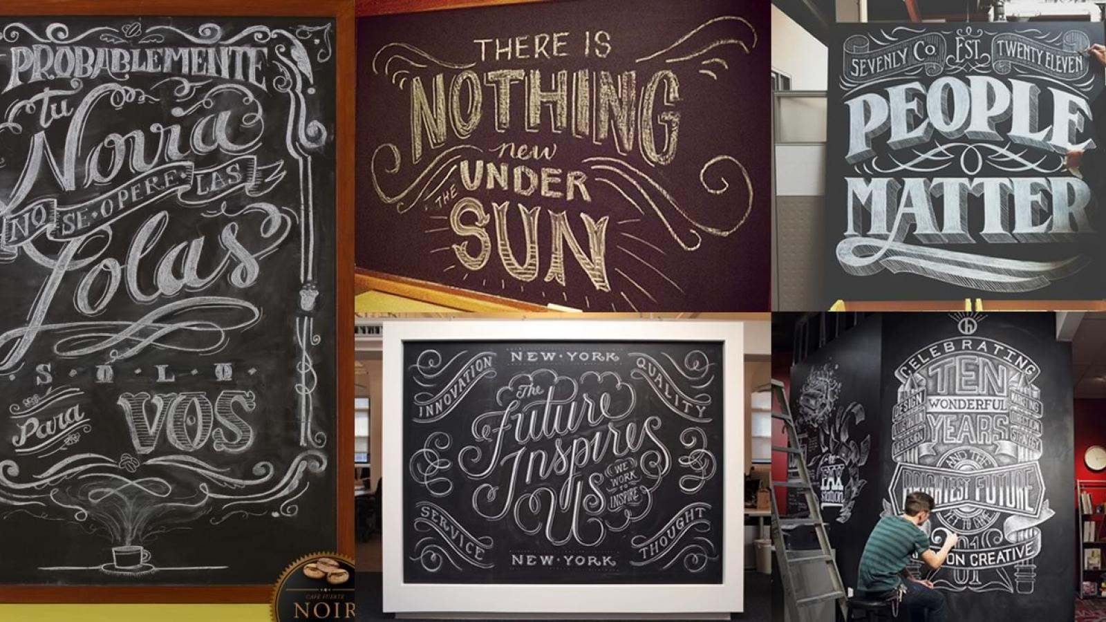 Chalkboard abduzeedo Chalkboard typography