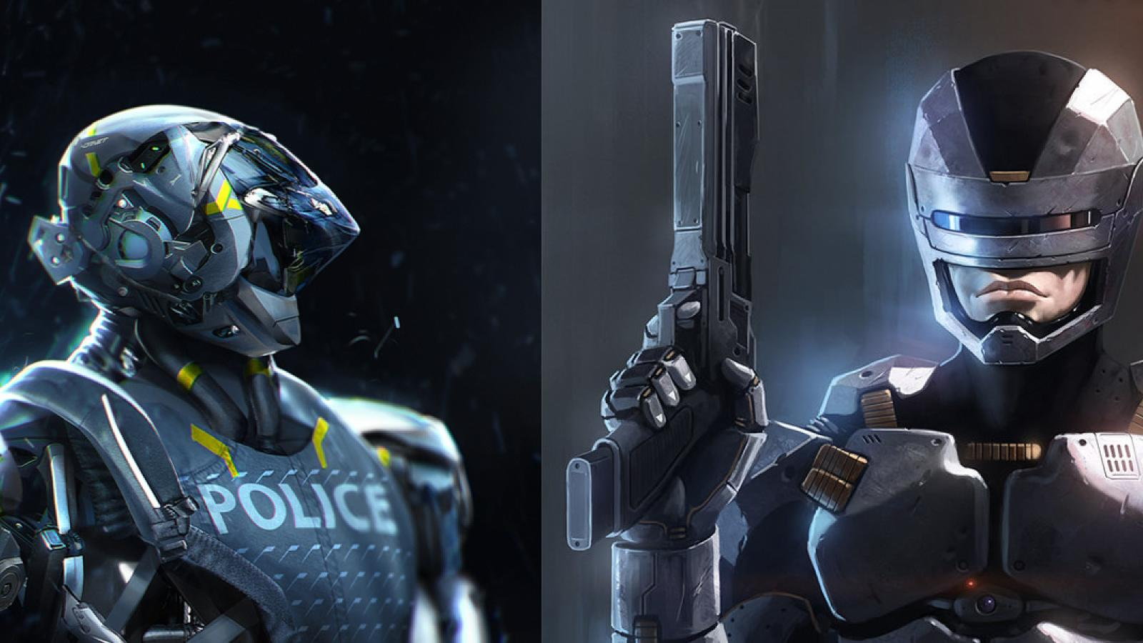 Robocop Redesign Illustrations