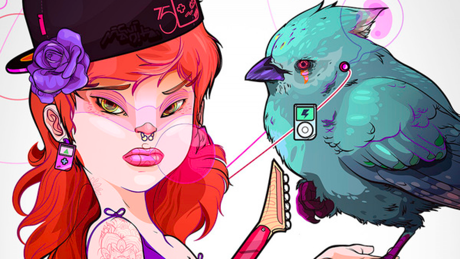 Fantastic Colorful Illustrations by Andrés Maquinita