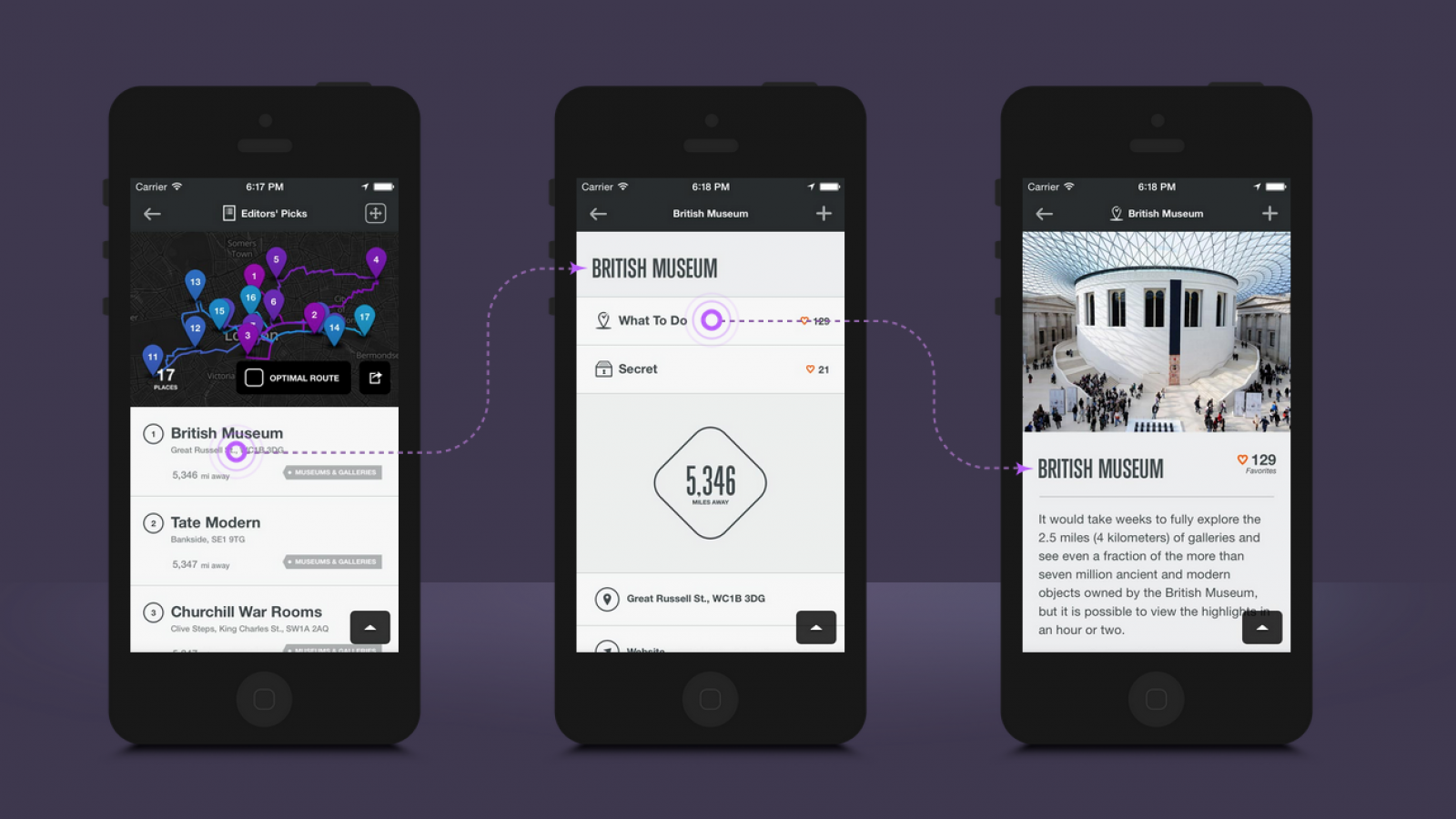 App Design: City Guides by National Geographic
