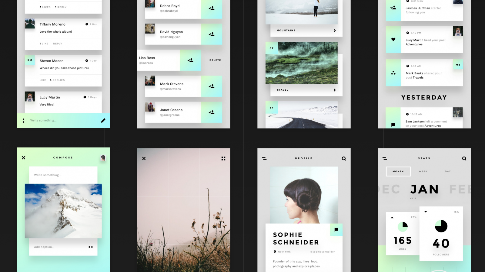 Free UI Kit: Relate by Invision