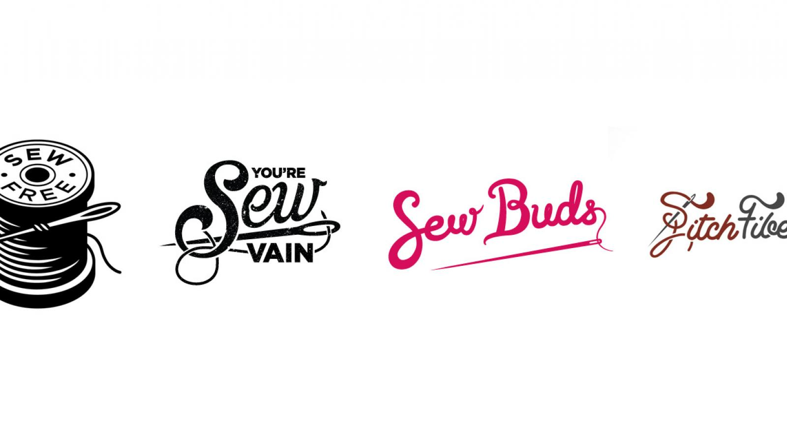 Logo Design: Sewing