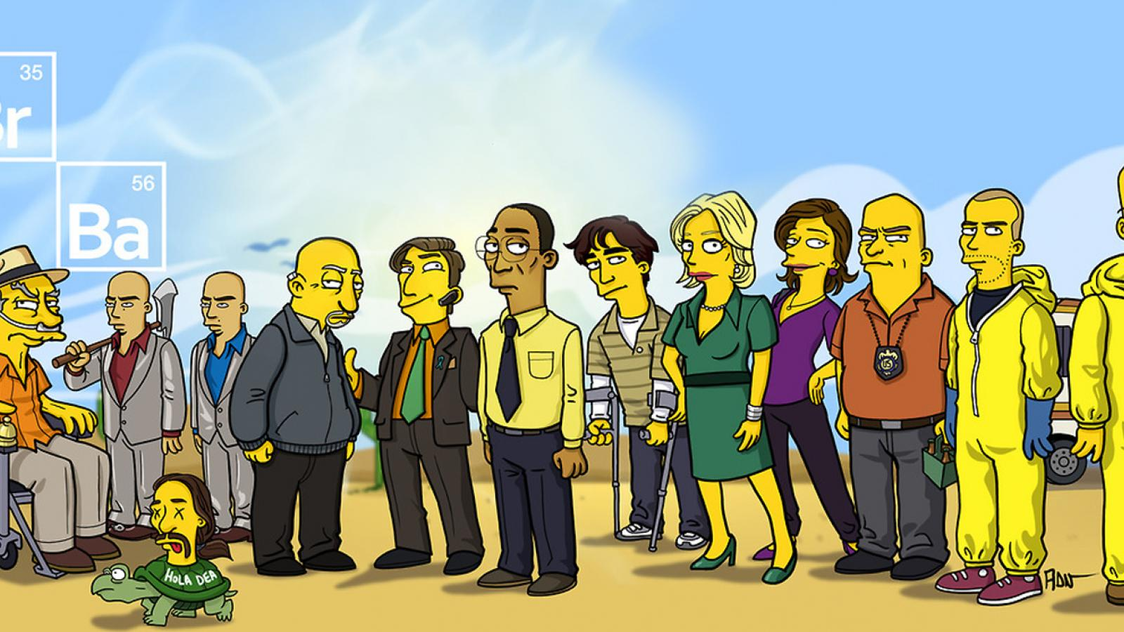 Simpsonized Breaking Bad by ADN