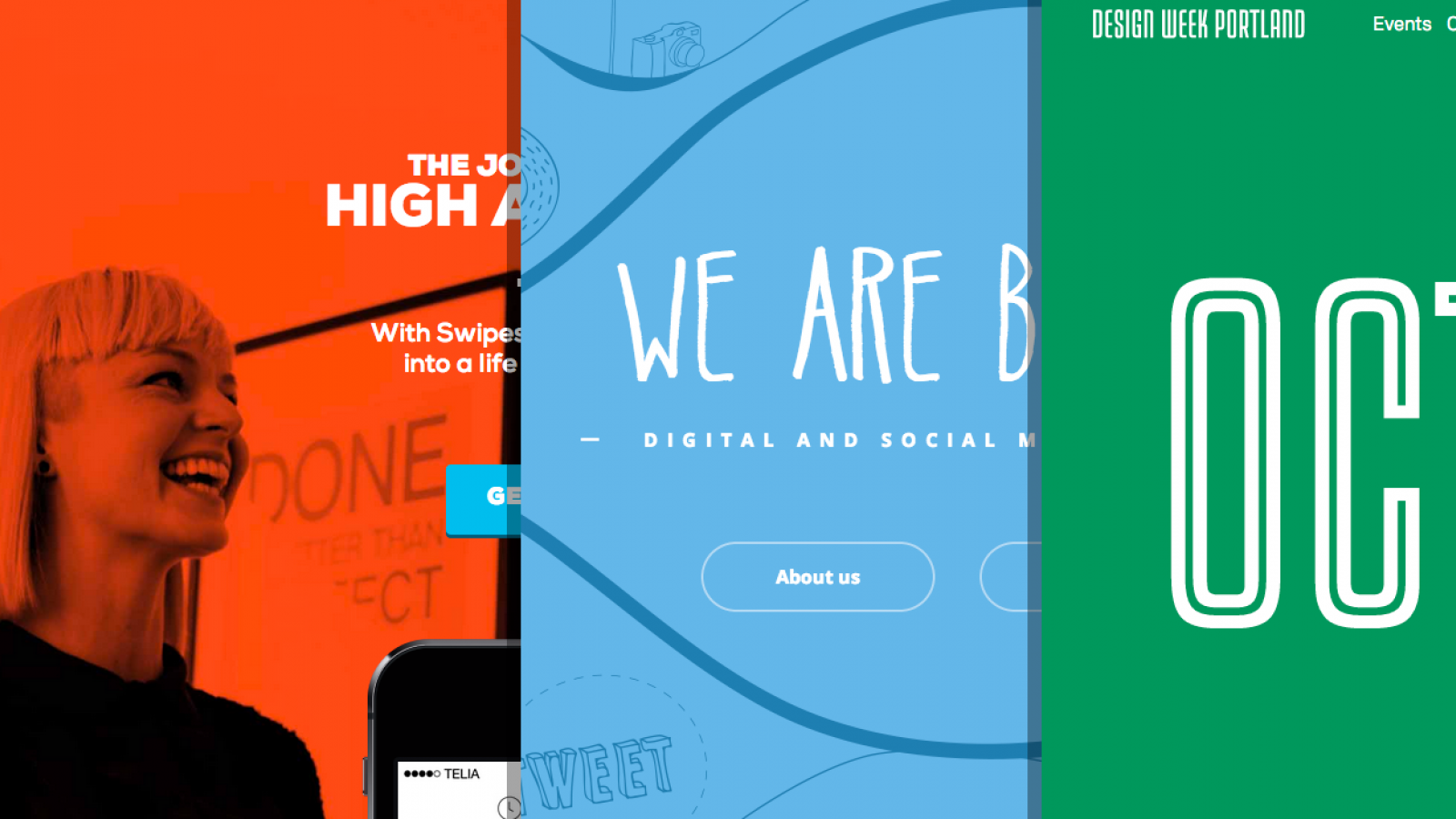 Sites of the Week: Swipes, Follow Bubble, Wivina and more