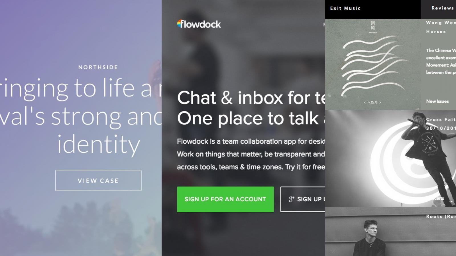 Sites of the Week: Oven Bits, Flowdock, Flatland and more