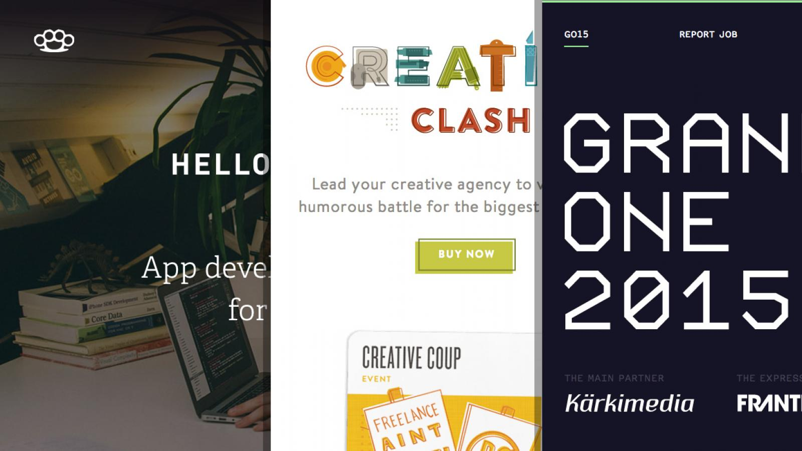 Sites of the Week: Rumble Labs, Creative Clash, Hum Creative and more