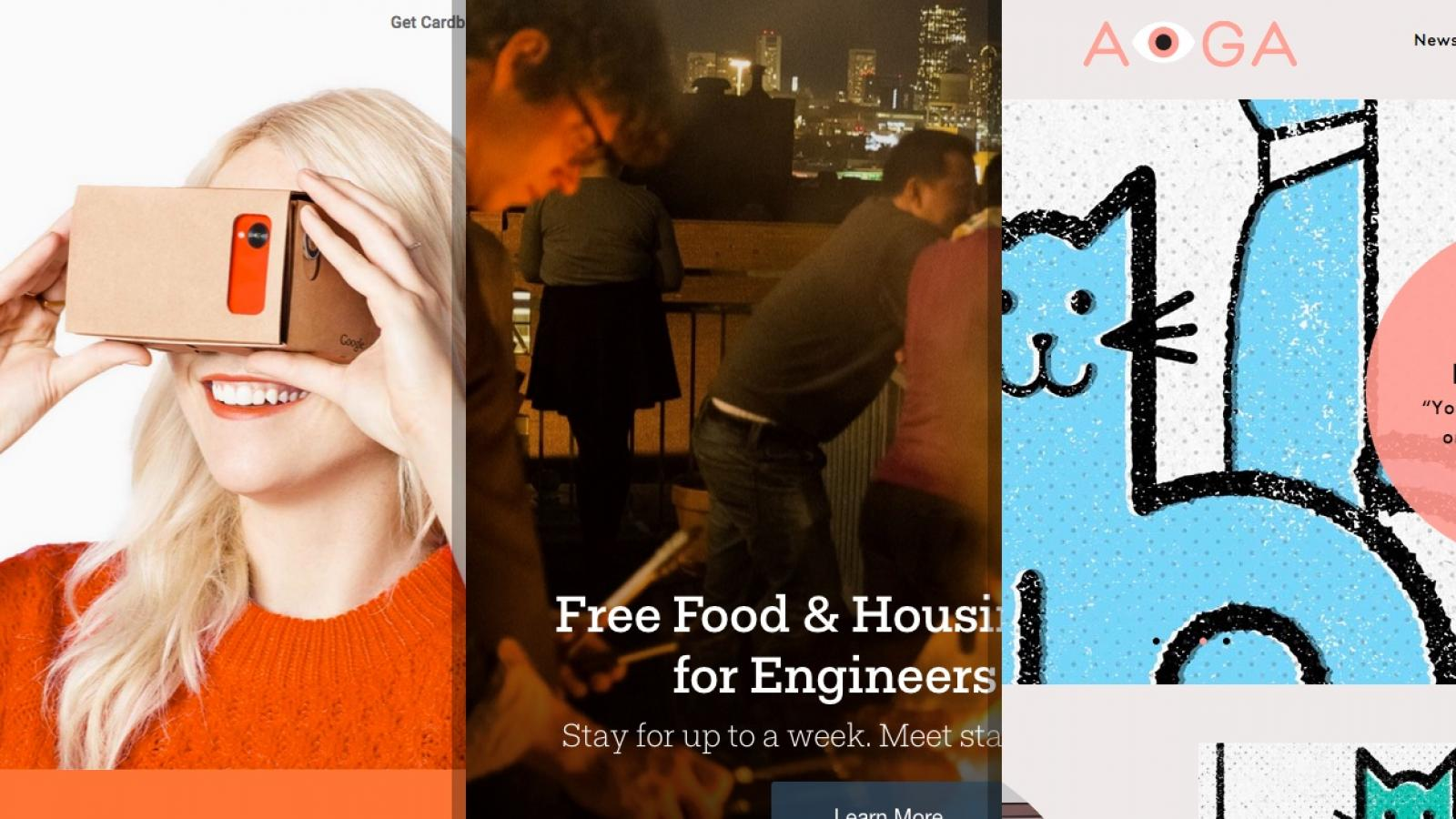Sites of the Week: Dainsh, Odd Pears, Google Cardboard and more