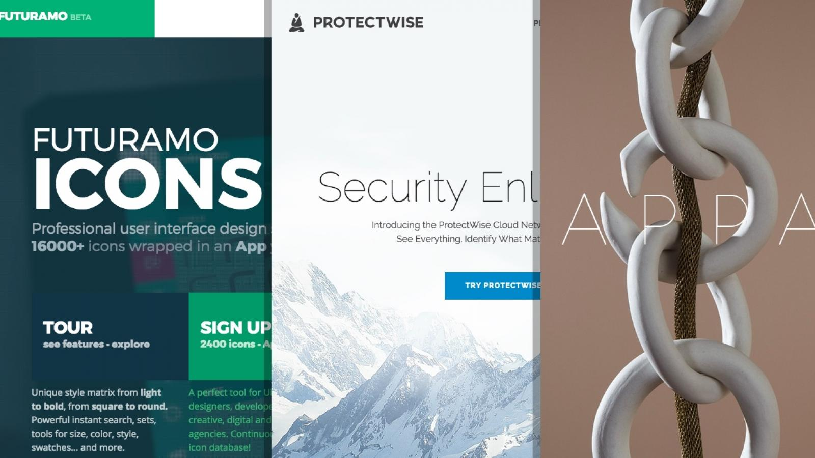 Sites of the Week: Apparatus, One World, Organizze and more