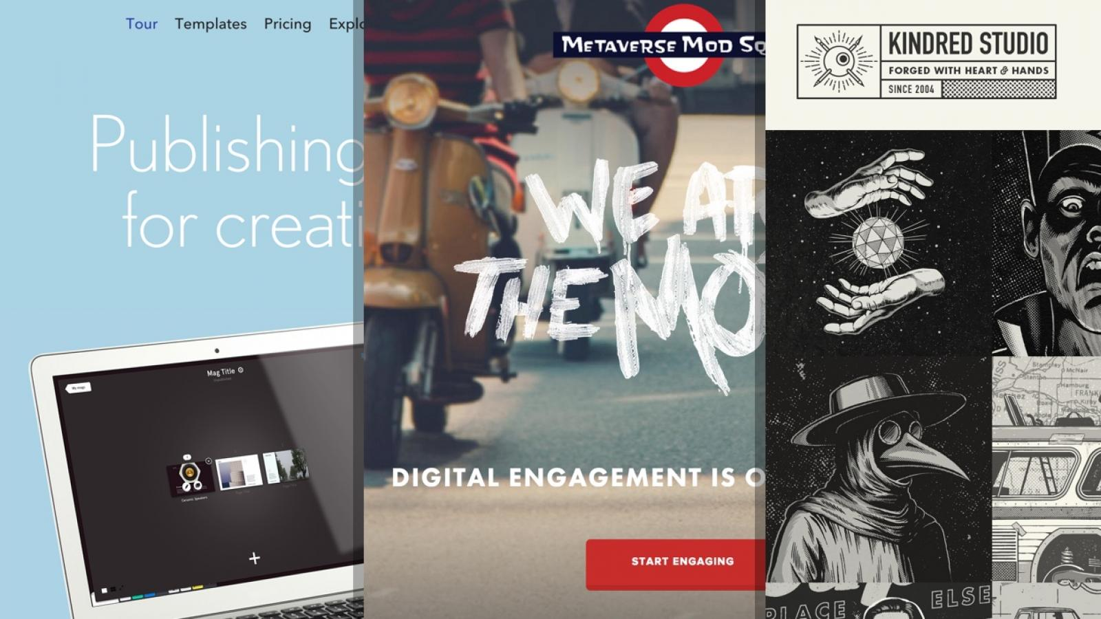 Sites of the Week: Parcel, Readymag, Winship and more