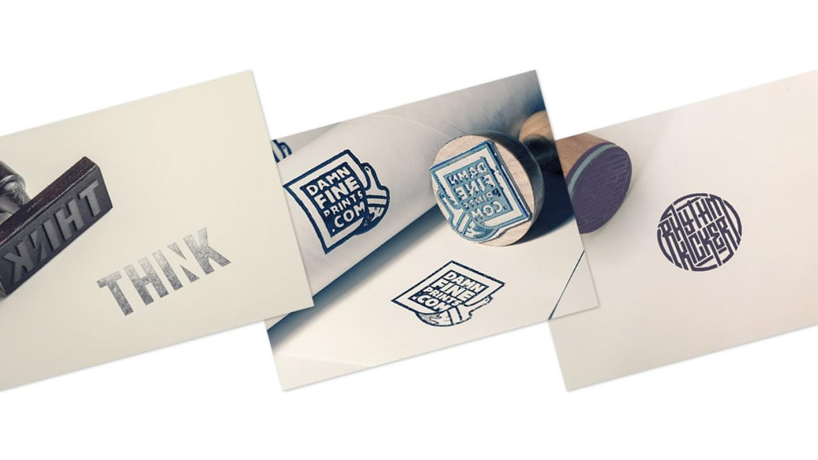 Logo Stamps Design